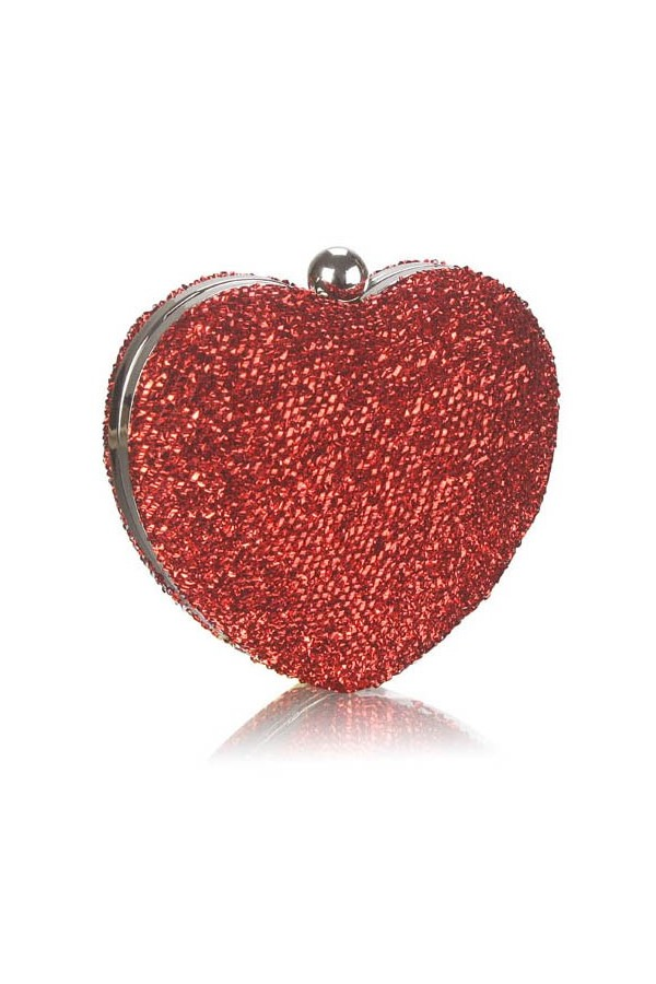 Clutch Red Heart