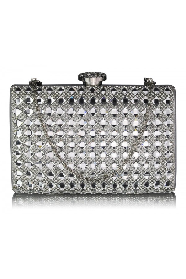 Clutch Silver Nancy