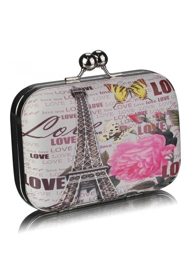 Clutch Love Paris Black