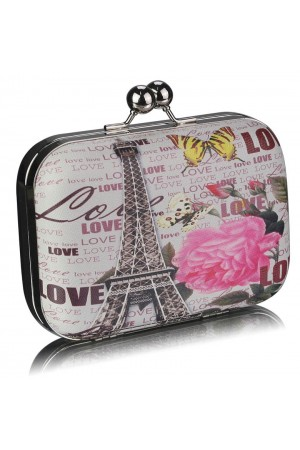 Clutch Love Paris Black