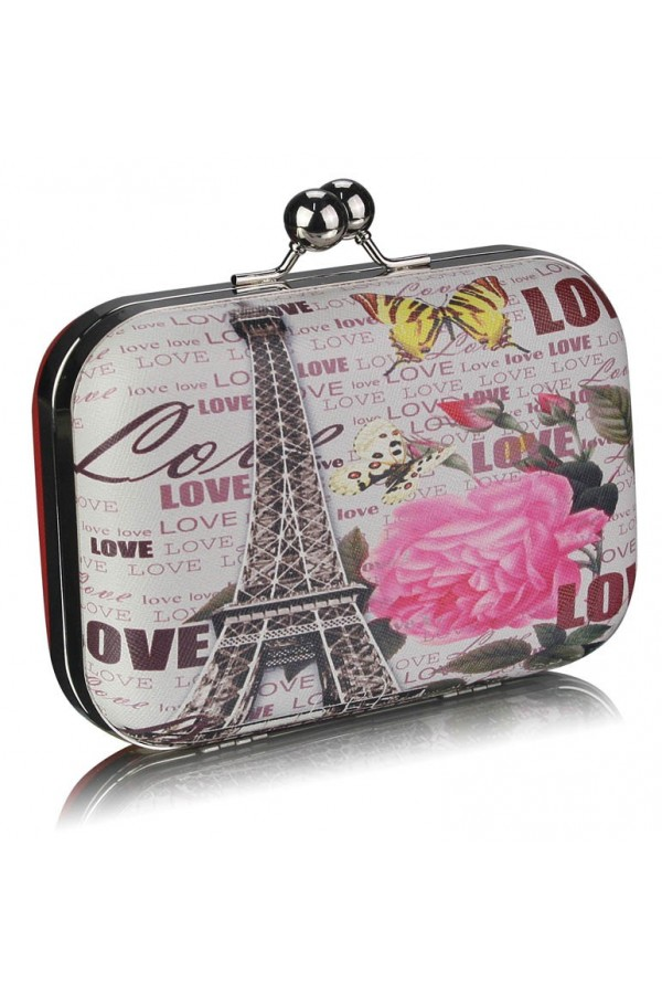 Clutch Love Paris Red