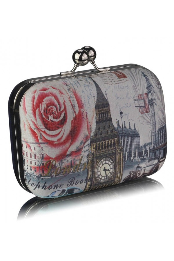 Clutch Love London Navy
