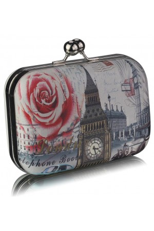 Clutch Love London White