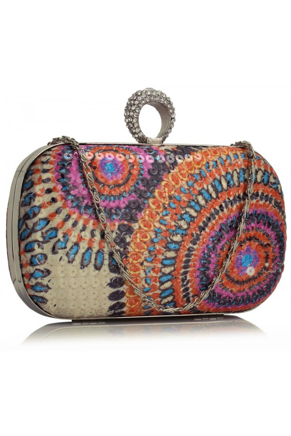 Clutch Alexis Multi-Color