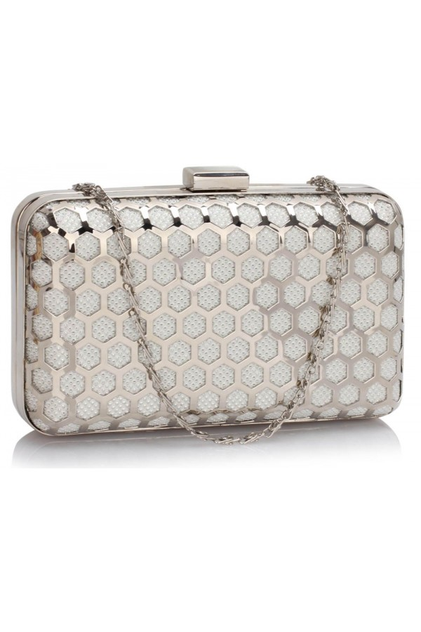 Clutch Ivory Luxury