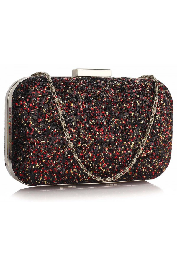 Clutch Black Sequin