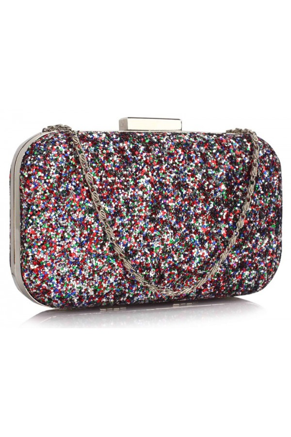 Clutch Multi-Color Sequin