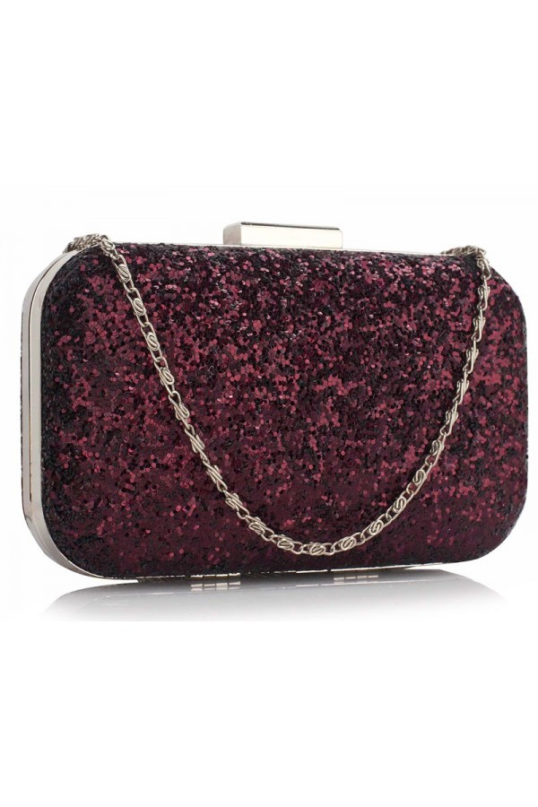 Clutch Purple Sequin