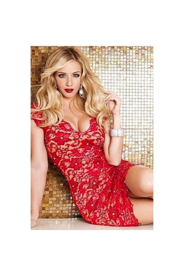 Rochie De Seara Red Charming