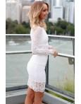Compleu Elegant White Lace