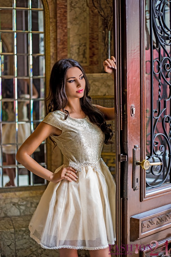 Rochie Eleganta Cream Hypnose