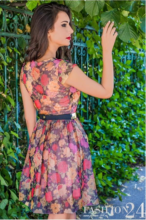 Rochie De Seara Sweet Flowers