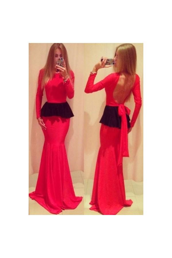 Rochie De Ocazie Red Frill
