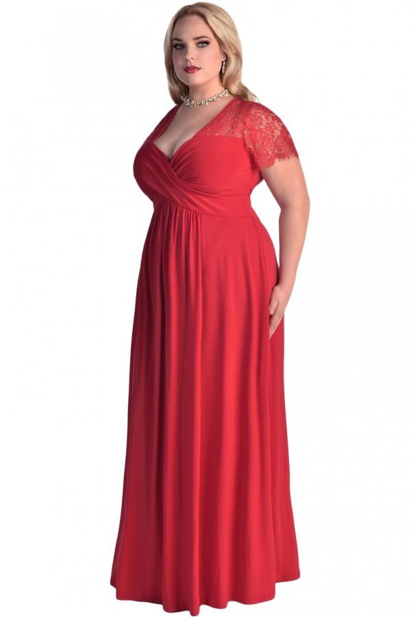 Rochie XXL Red Love