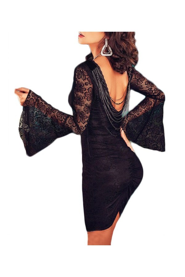 Rochie Bell Sleeves