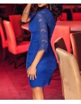Rochie De Seara Blue Decoltage
