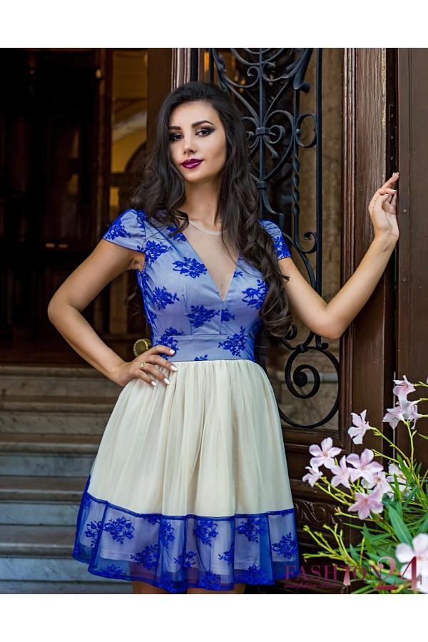 Rochie De Seara Blue Seduction