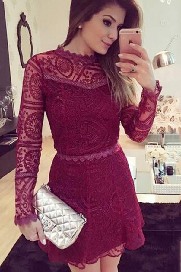 Rochie De Seara Burgundy Style