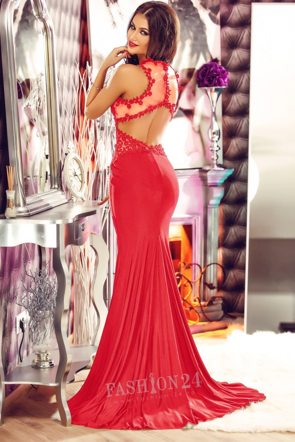 Rochie Formidable Night Red
