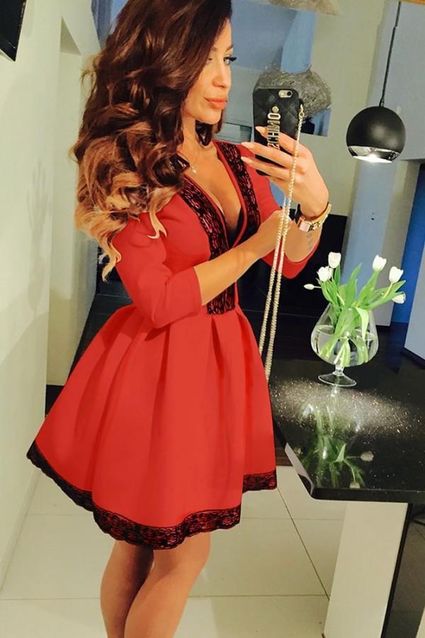 Rochie Eleganta Red Fit