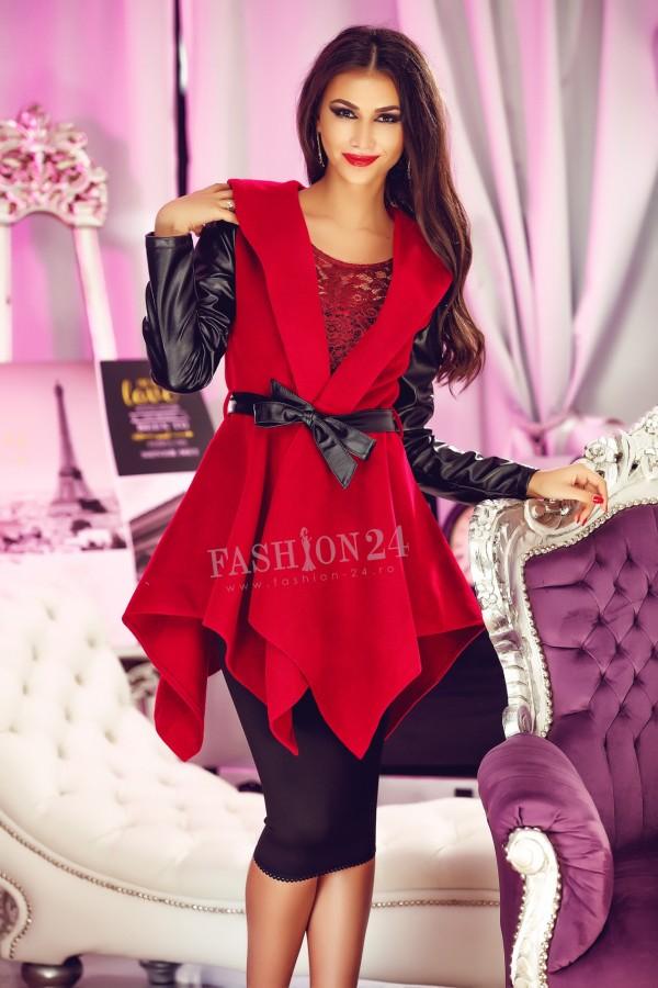 Palton Asymmetric Red