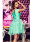 Rochie Electric Green