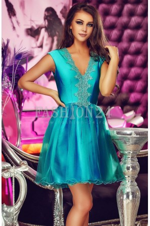 Rochie Electric Azure