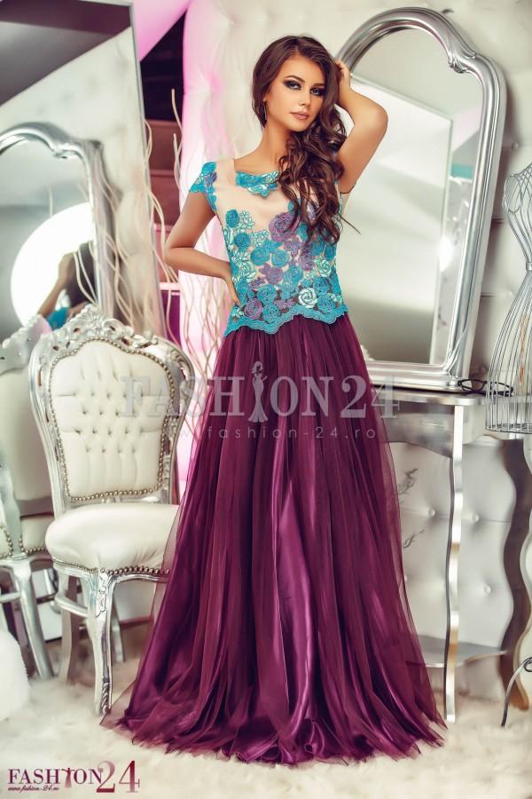 Rochie Royal Purple