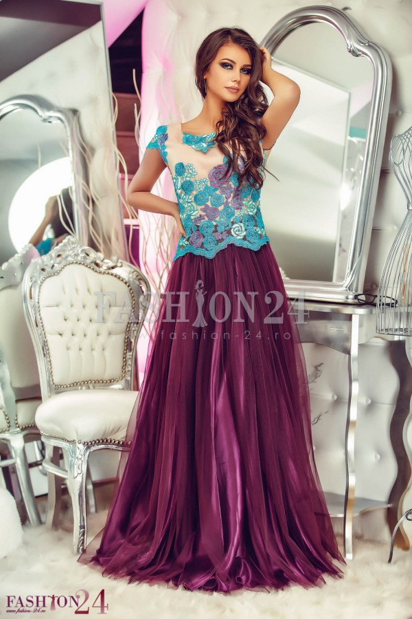 Imagine produs Rochie Royal Purple