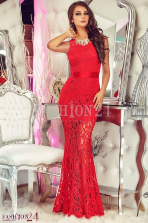 Rochie Love Lace Red