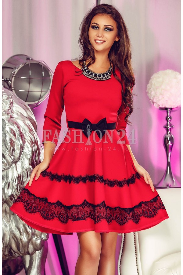 Rochie Eleganta Red Dolly
