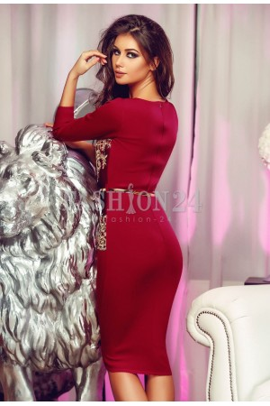 Rochie Burgundy Famous