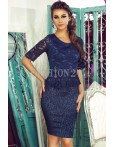 Rochie Office Navy Attractive