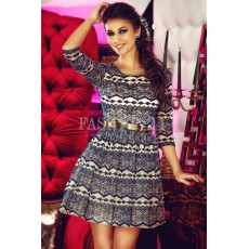 Rochie Baby Doll Navy Waves