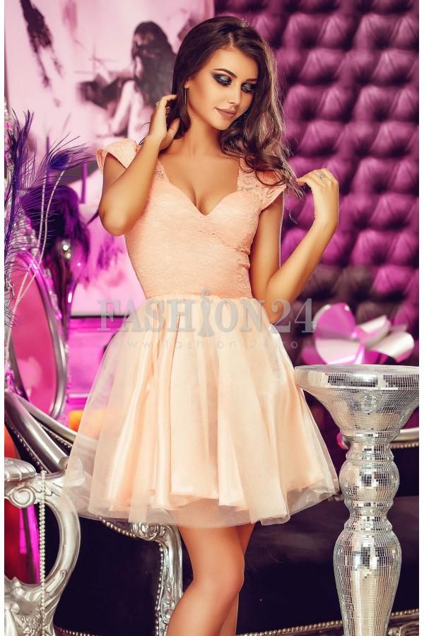 Rochie De Seara Lovely Peach