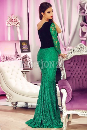Rochie Imperial Green