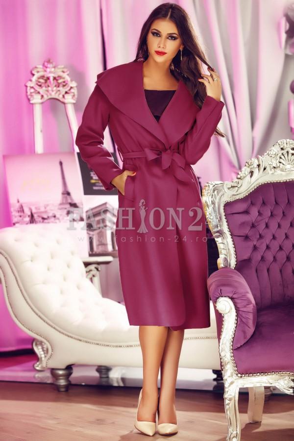 Palton Elegant Shade Purple
