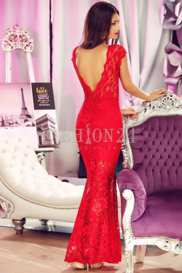 Rochie De Ocazie Red Lace
