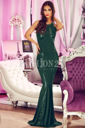 Rochie Wonderful Evening Green