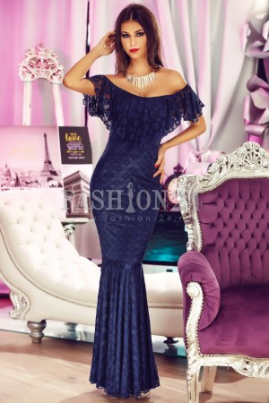 Rochie Navy Blue Light