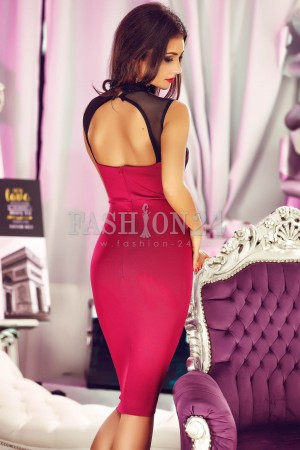 Rochie Office Like Youth Burgundy