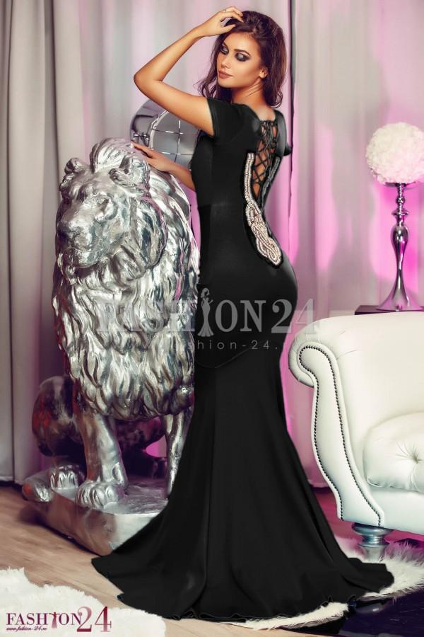 Rochie De Ocazie Romantic Black