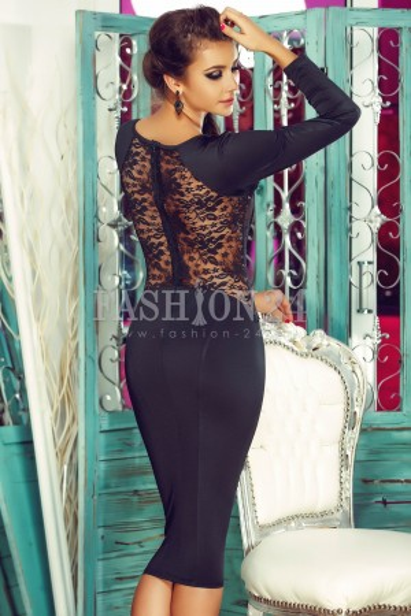 Rochie Eleganta Black Womanly
