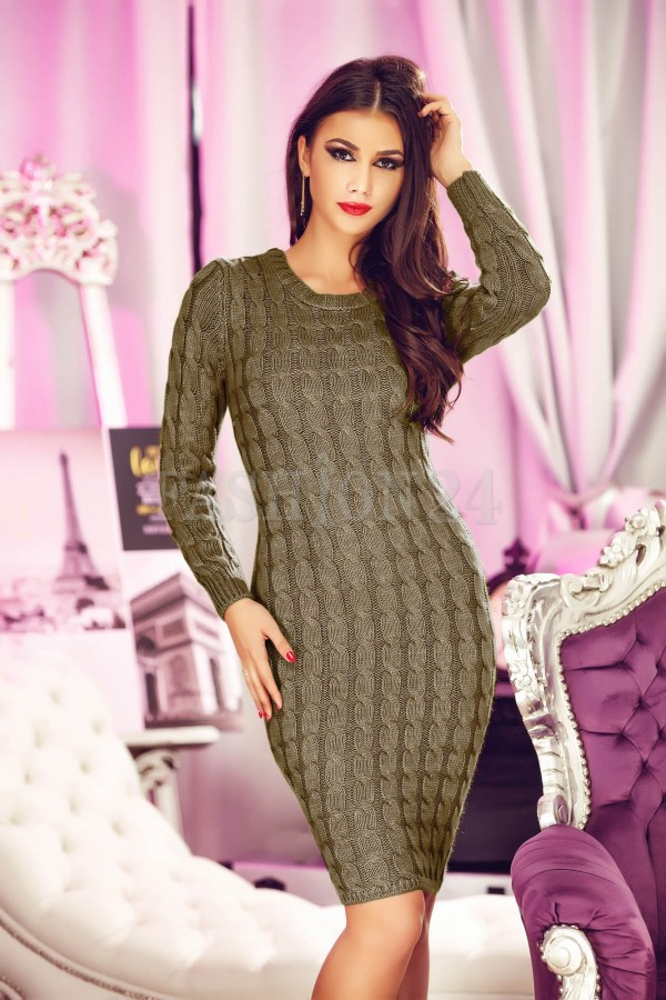 Rochie Eleganta Brown Sensitive