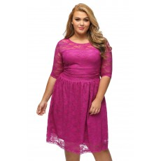 Rochie XXL Awesome Purple thumbnail