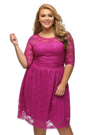 Rochie XXL Awesome in Mov