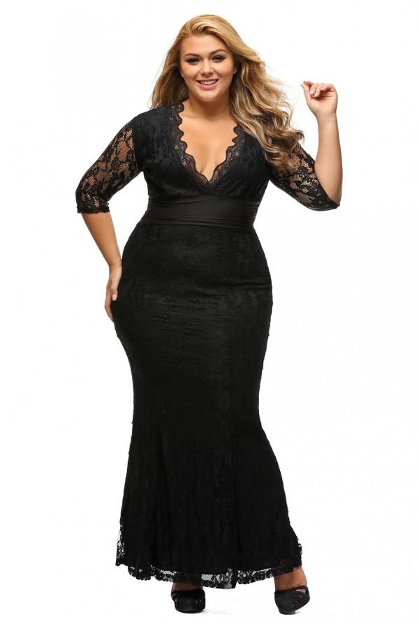 Rochie XXL Fabulous Black