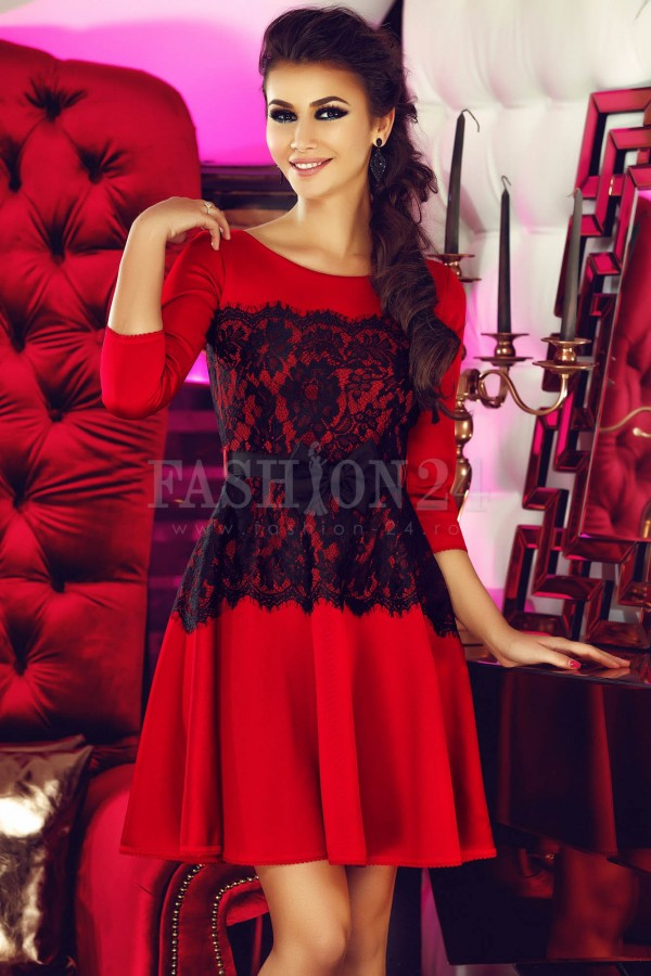 Rochie Real Red