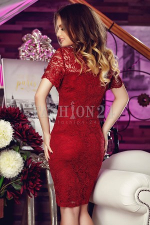 Rochie Din Dantela Red Truth