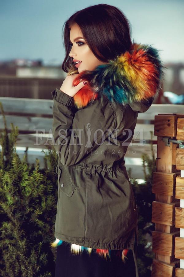 Geaca Parka New Style Multicolor